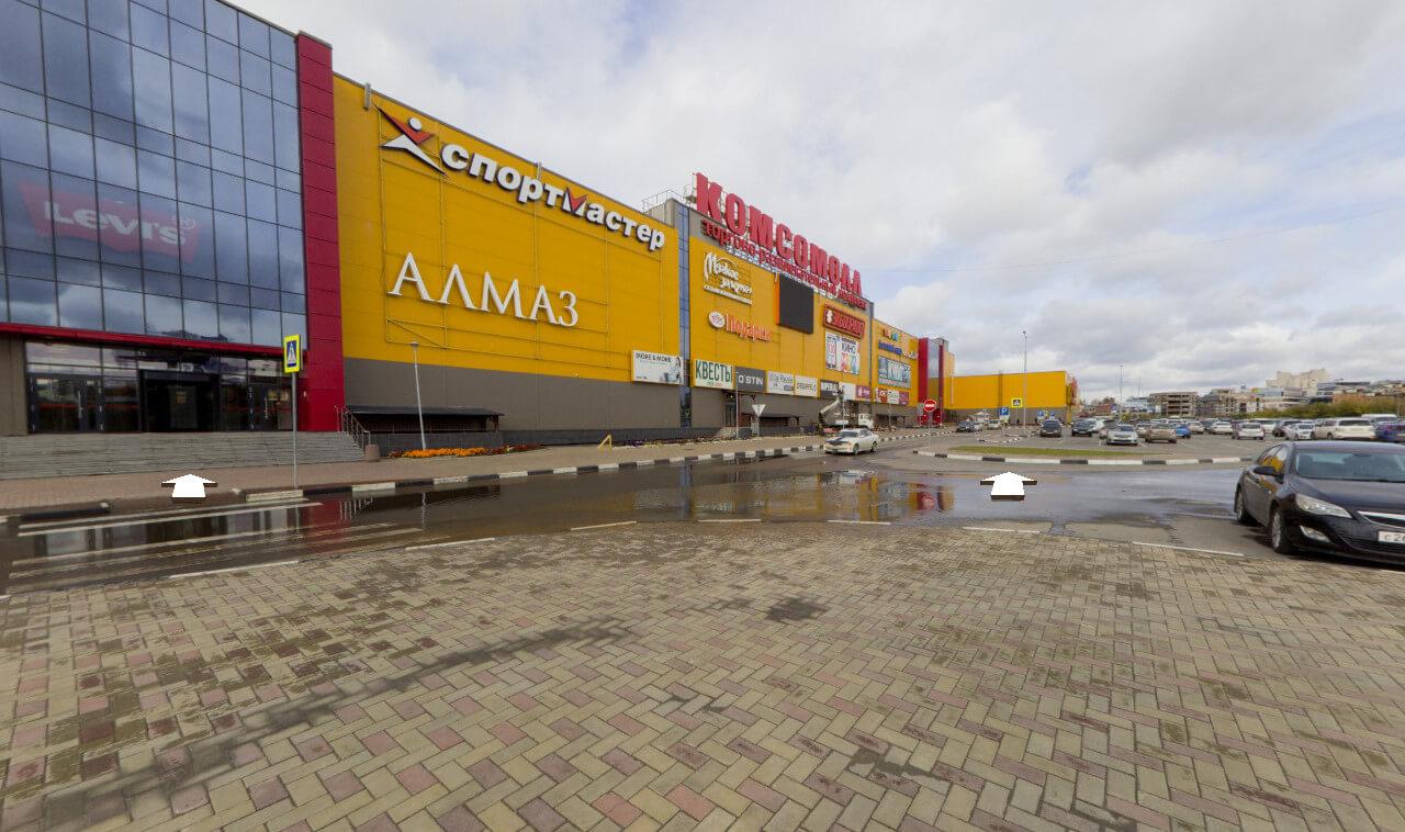 Виртуальные туры по торговому комплексу Комсомол